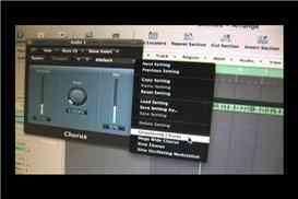 Coro Plug-In en Logic Pro