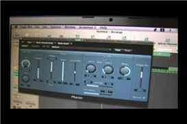 Phaser Plug-In en Logic Pro