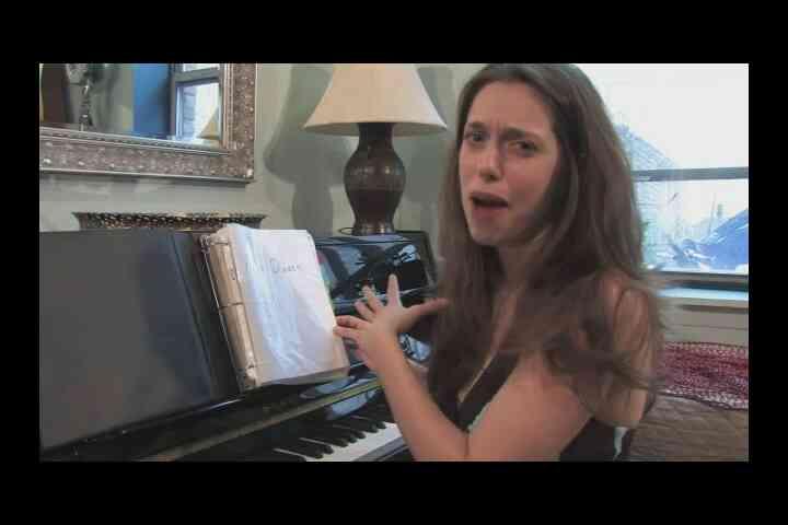 Cómo Preparar una Broadway Audición Cancionero
