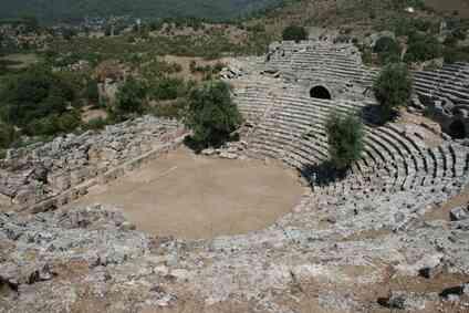 El Propósito de la Comedia-Tragedia en el teatro griego