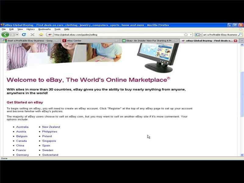 Iniciar un negocio Rentable Negocio de eBay