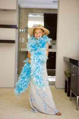 Cómo Hacer un vestido de Organza de Boa