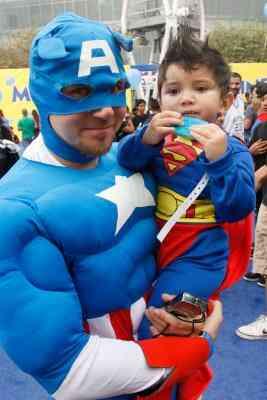 Cómo Hacer una Máscara del Capitán América