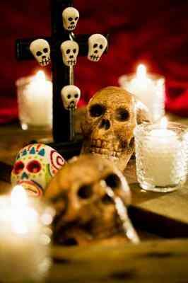 Cómo Hacer que el día De Las Muertos Calaveras Sin Moldes