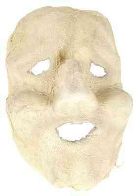 Cómo Alisar una Máscara de Yeso Después de la Gasa Seca