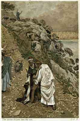 Jesús Con Nicodemo Artesanías