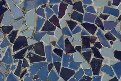 Cómo Hacer un Mosaico Con Cemento