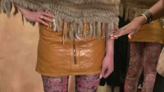 Cómo usar una Minifalda en el Invierno