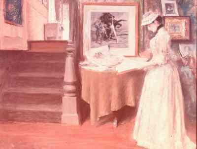 Partes de un Vestido en la década de 1800