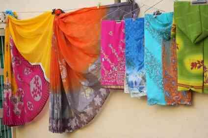 Cómo usar un Tamil Brahmán Sari