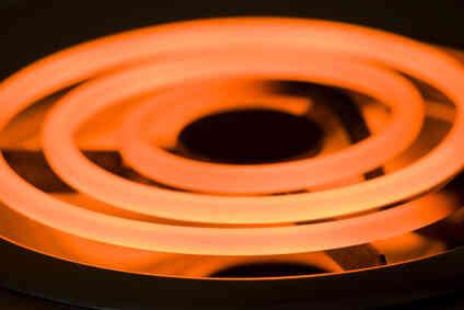 Estufa Eléctrica Elemento De Calefacción De Los Peligros