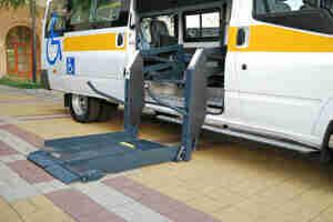 Pagar por un accesibles en silla de ruedas de vehículos