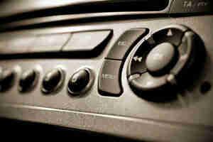 Obtener estéreo del coche de la instalación de entrenamiento