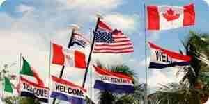 Reconocer los diferentes tipos de banderas y pancartas