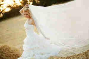Hacer un velo de novia patrón
