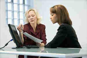 ¿Un empleado de la revisión y evaluación: medición del desempeño