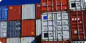 Acostumbrarse contenedores de carga