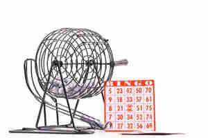 Mantenga un éxito de la cesta de bingo de recaudación de fondos