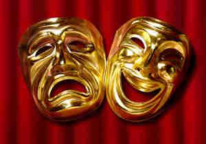 Escribir un guión para una comedia: la comedia de la escritura