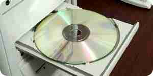 Limpiar una unidad de cd rom