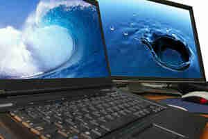 Transferir archivos desde una computadora de escritorio a una laptop—los archivos de la computadora