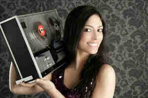 Encontrar piezas vintage de carrete a carrete de cinta de audio grabadoras