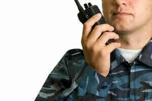 El uso de los procedimientos de comunicación de radio