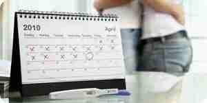 El uso de un calendario de ovulación para calcular la concepción