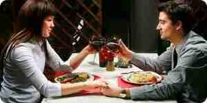 Plan de una cita romántica: los lugares, las cenas y las ideas