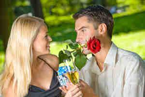 romántico cumpleaños