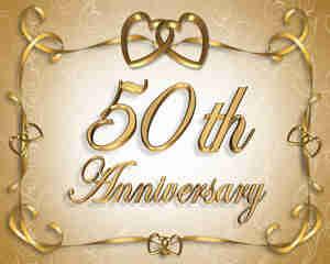 Lanzar una 50º aniversario de la boda del partido