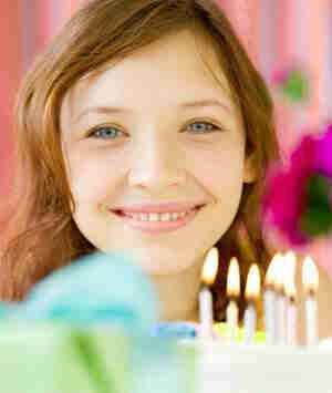Lanzar una dulce 16 de la fiesta de cumpleaños