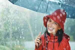 Paraguas de la lluvia de consejos de reparación
