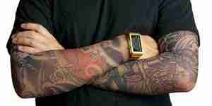 Conseguir falso tatuaje mangas