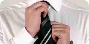 El nudo de corbata: aprender a atar una corbata