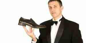 Partido de zapatos de vestir para tu traje