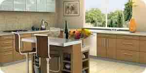 La elección de los nuevos gabinetes de cocina: laminado, de madera y de metal gabinetes