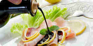 Hacer una reducción de vinagre balsámico