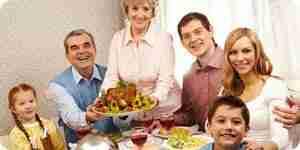 Preparar una cena de acción de gracias: la cena de día de acción de gracias