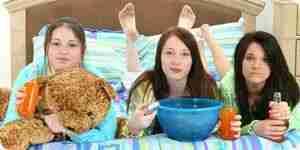 Tirar las fiestas de pijamas para su hijo: diversión de la fiesta de pijamas de ideas de la fiesta