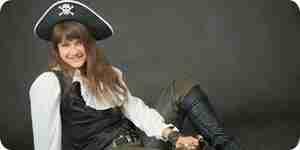 Ser un pirata moza: disfraces, ropa y más