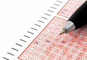 Escoger números de lotería