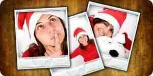 Hacer fotos de Navidad tarjetas: tarjetas de Navidad personalizadas
