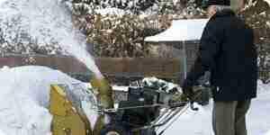 Elegir un soplador de nieve: eléctrico soplador de nieve