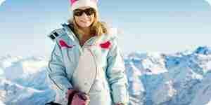 Vestido para esquiar