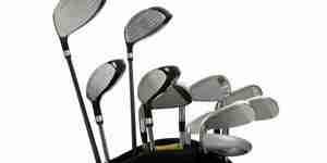 Seleccione los clubes de golf