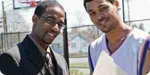 Se reclutaron para el baloncesto de la universidad: juego de deportes de la universidad