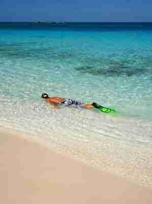 Elegir un equipo de snorkel