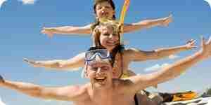 Encontrar hoteles de vacaciones de la familia: el plan de un viaje de la familia