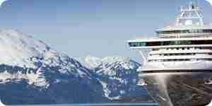 Tomar un crucero por alaska